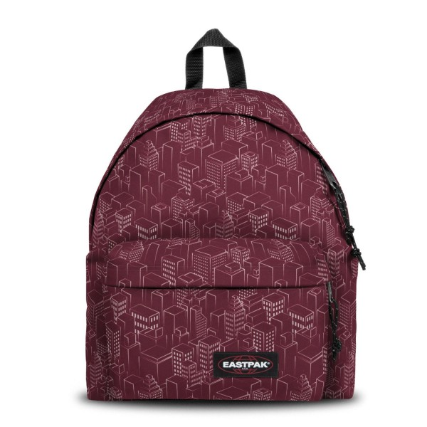 EASTPAK MOCHILA PADDED PAK'R® MERLOT BLOCKS