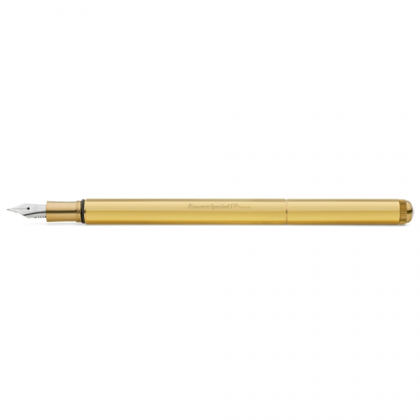 KAWECO SPECIAL CANETA FOUNTAIN BRASS - M